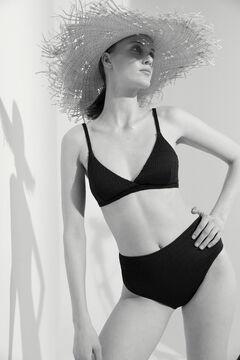 Hoss Intropia Brava. Bikini de estilo retro Negro