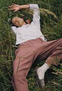 Hoss Intropia Arán. Pantalón algodón cintura elástica Rosa