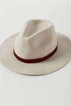 Hoss Intropia Brunnen. Sombrero de lana Beige