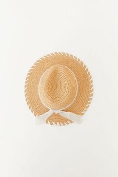 Hoss Intropia Trani. Sombrero de rafia estilo panameño Beige