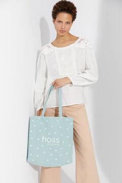 Hoss Intropia Danu. Bolsa algodón orgánico shopper Verde
