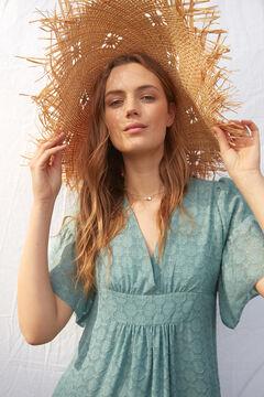 Hoss Intropia Migalia. Vestido largo con lúrex Azul