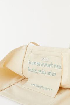 Hoss Intropia Marella. Bolsa algodón orgánico shopper Beige
