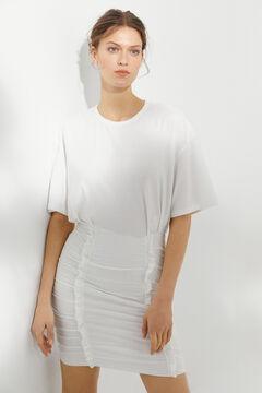 Hoss Intropia Mastella. Vestido corto de punto ceñido Blanco