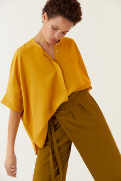 Hoss Intropia Vera. Camisa oversize manga corta Amarillo