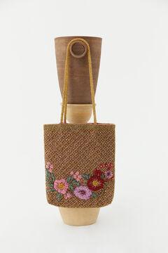 Hoss Intropia Gadea. Bolso bordado flores Varios